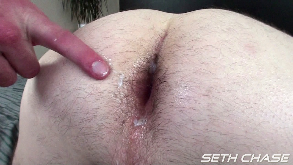 Seth Chase Daddy taking a bareback load from a younger guy up his ass Seth and Kyle Amateur Gay Porn 33 Daddy Takes His First Ever Bareback Load Up His Ass From a Young Stud
