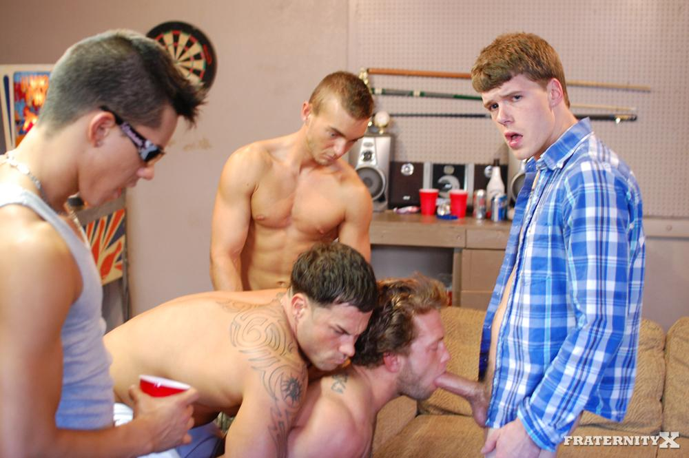 Fraternity-X-Straight-Frat-Boys-Barebacking-Amateur-Gay-Porn-07 Real Amateur Drunk Fraternity Brothers Take Turns Barebacking