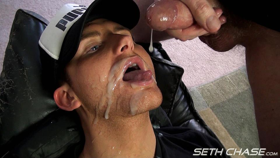 Seth Chase Addison Cooper Massive Load of Cum In the Mouth And Face Amateur Gay Porn 18 Cocksucker Eating A Massive Load of Hot Thick Cum