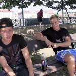 The Czech Hunter Blonde Twink With Big Uncut Cock Gets Barebacked In Public Amateur Gay Porn 06 150x150 Young Czech Football Player Gets Barebacked In The Park