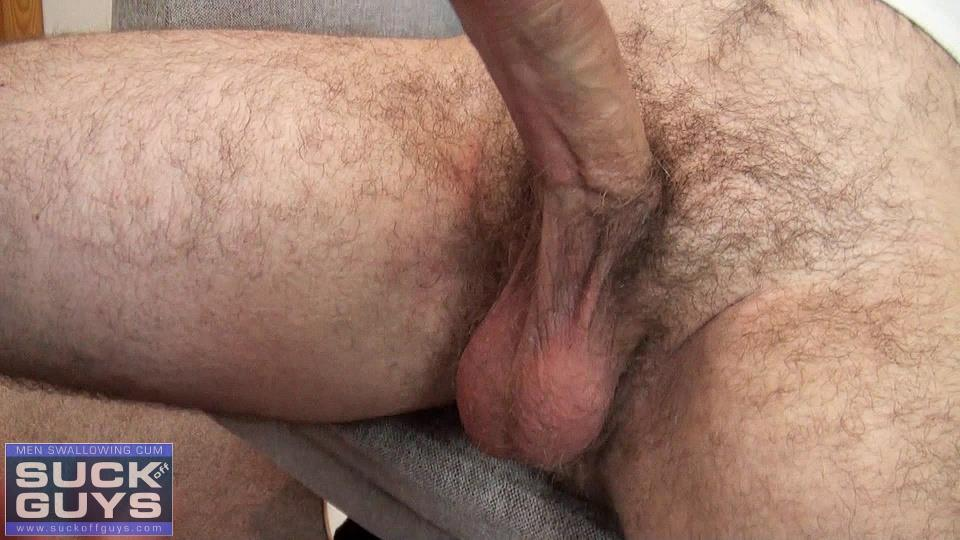 Suck-Off-Guys-Tyler-Beck-Hairy-Cub-Gets-Cock-Sucked-Cum-Eating-Amateur-Gay-Porn-11 Hairy Cub Gets His Thick Cock Drained And Prostrate Massaged
