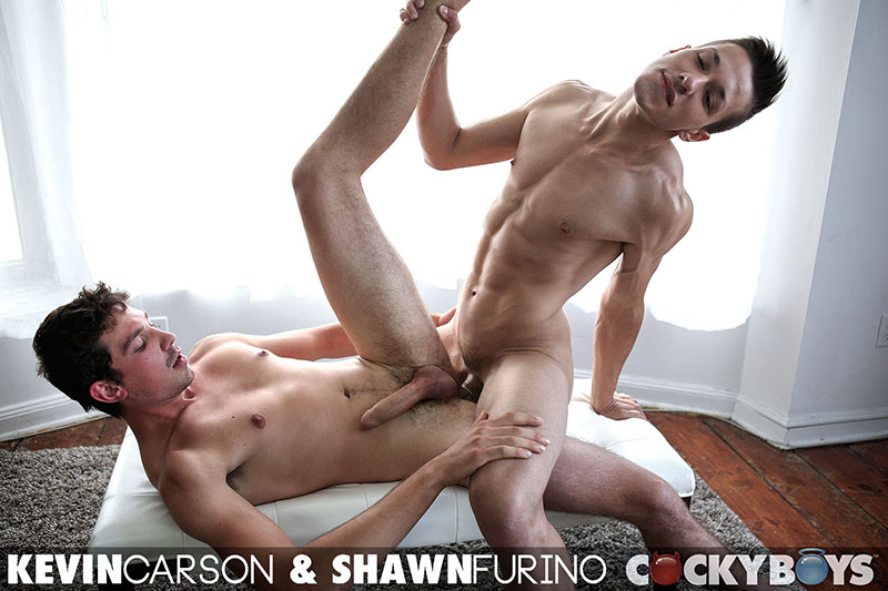 Cockyboys-Shawn-Furino-and-Kevin-Carson-Big-Uncut-Cock-Guys-Fucking-Amateur-Gay-Porn-24 Two New Cockyboy Amatuers Make Their Gay Porn Debuts