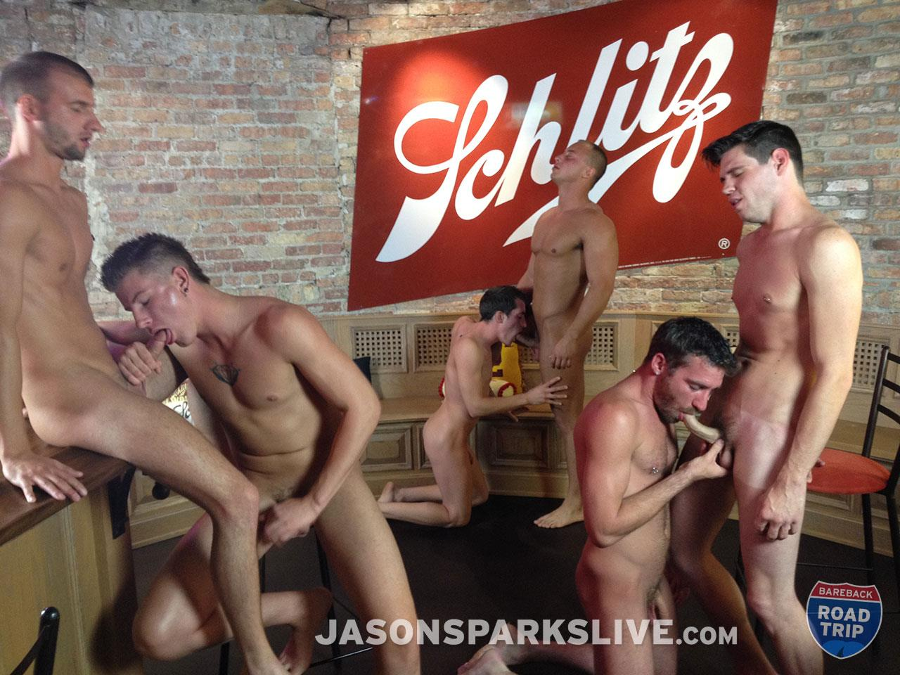 Jason Sparks Live Dustin Tyler Shawn Andrews Brendon Scott Corbin Riley Antonio Paul Jake Matthews Bareback Orgy Amateur Gay Porn 06 Big Cock Amateur Bareback Orgy in Milwaukee