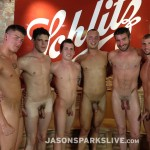 Jason Sparks Live Dustin Tyler Shawn Andrews Brendon Scott Corbin Riley Antonio Paul Jake Matthews Bareback Orgy Amateur Gay Porn 15 150x150 Big Cock Amateur Bareback Orgy in Milwaukee