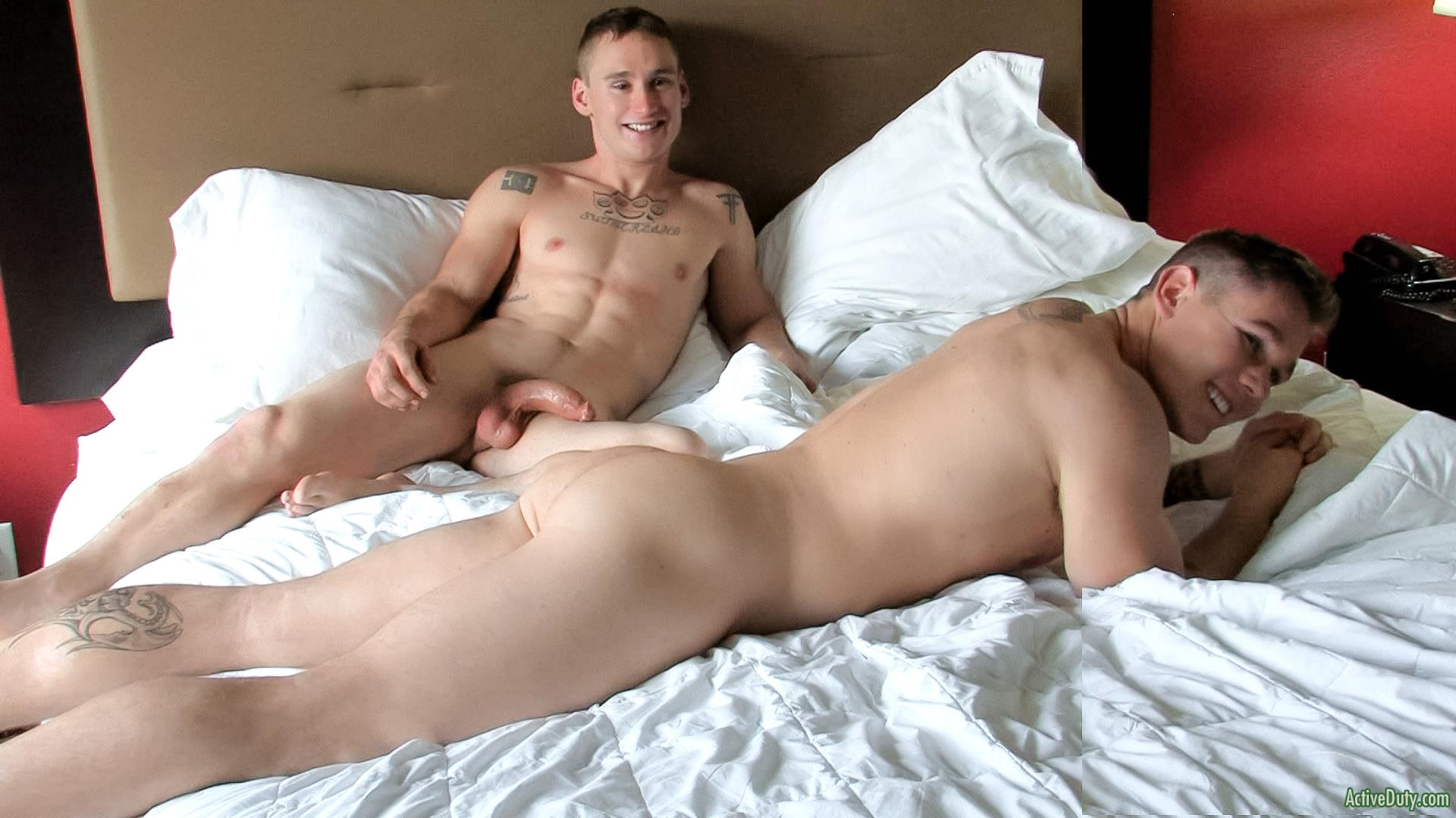 Active-Duty-Randy-and-Tim-Straight-Army-Guys-Fucking-Muscle-Cock-Amateur-Gay-Porn-15 Straight Muscle Army Guy Takes A Big Cock Up The Ass For The First Time