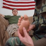 All American Heroes Jett and Alex Naked Army Guy Gets First Gay Blowjob Amateur Gay Porn 03 150x150 Straight Army Private Gets A Foot Massage and His First Gay Blow Job