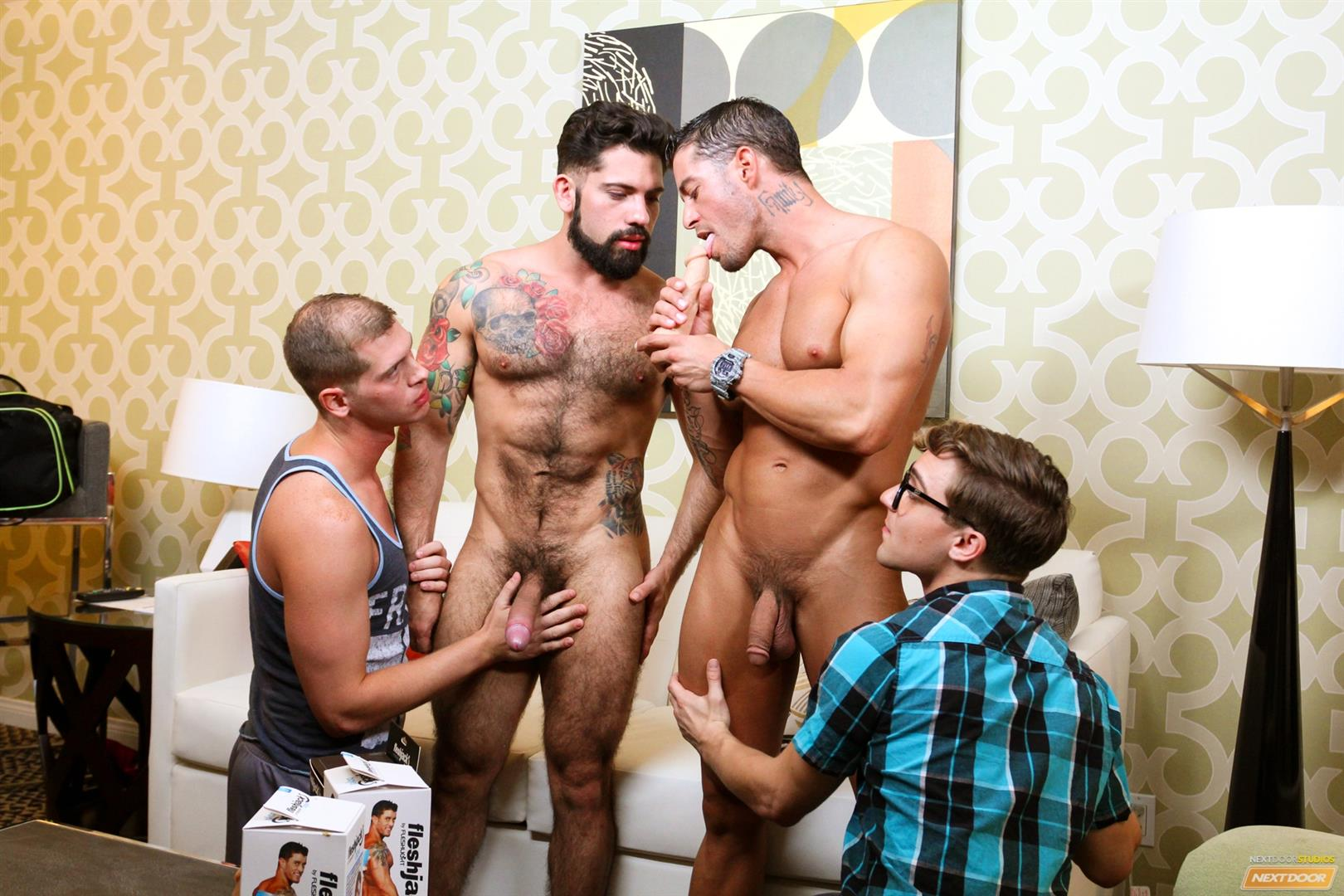 Cody-Cummings-and-Tyler-Morgan-and-Alessandro-Del-Torro-Cock-Sucking-Lessons-Amateur-Gay-Porn-10 Cody Cummings Gives The Boys Cock Sucking Lessons