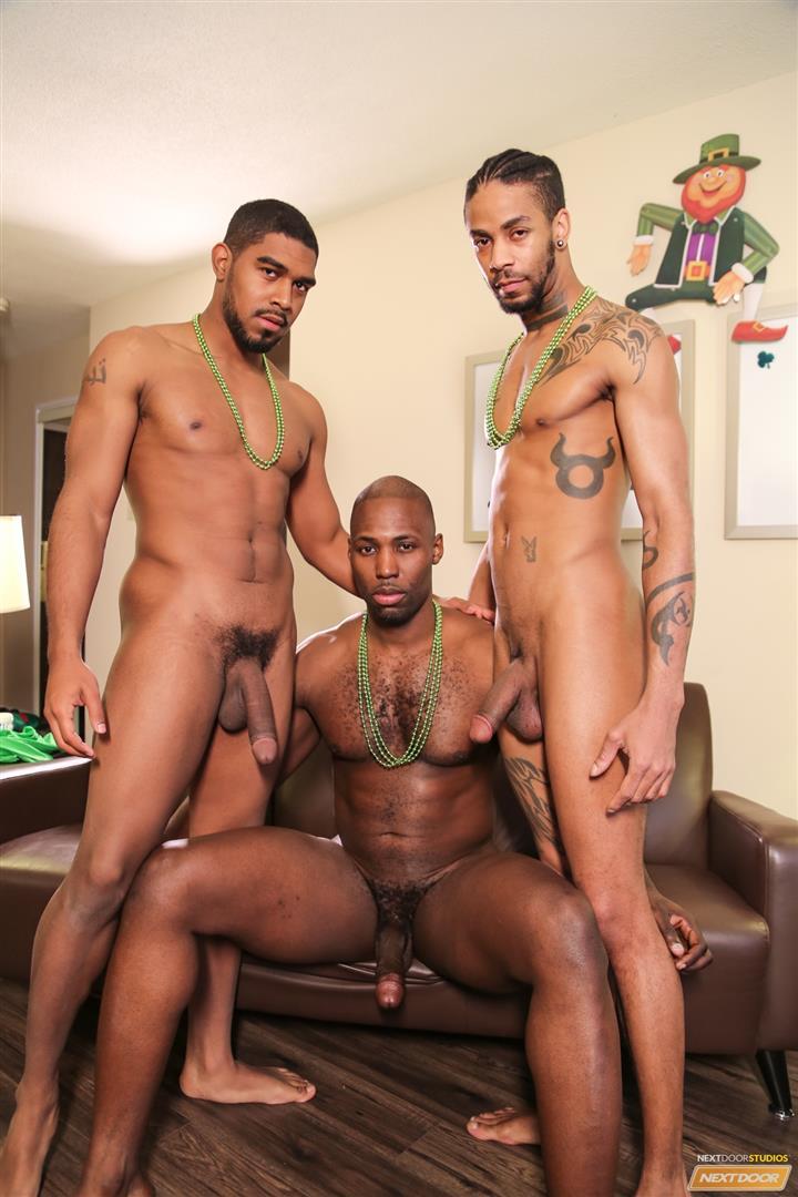 Next Door Ebony Nubius and Jin Powers and XL Naked Thugs Threeway Fucking Amateur Gay Porn 09 Big Black Cock Threeway Suck and Fuck Thug Fest