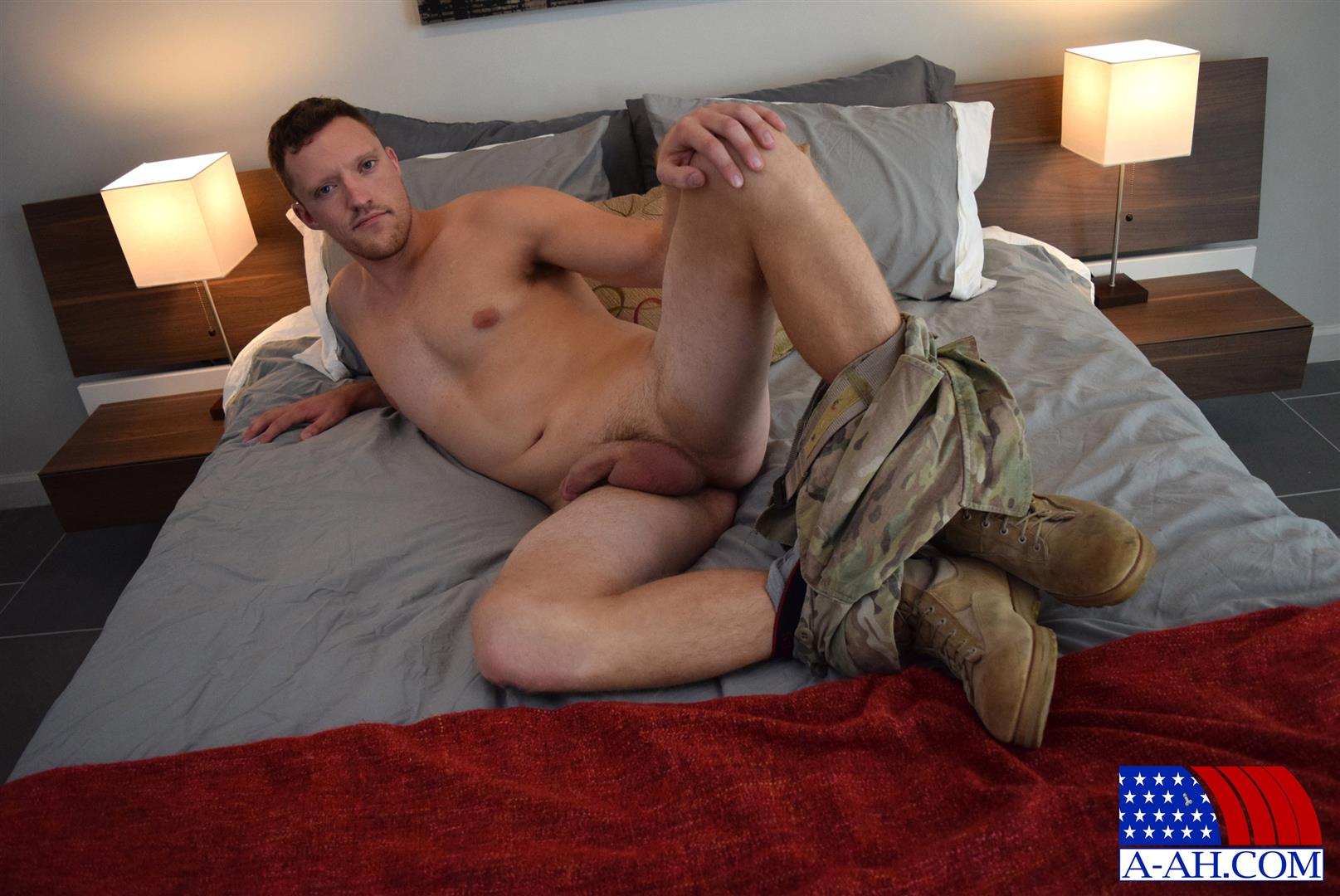 All American Heroes Randy Army Sergeant Naked With A Big Cock Amateur Gay Porn 11 Army Sergeant Comes Out Of The Closet in Afghanistan