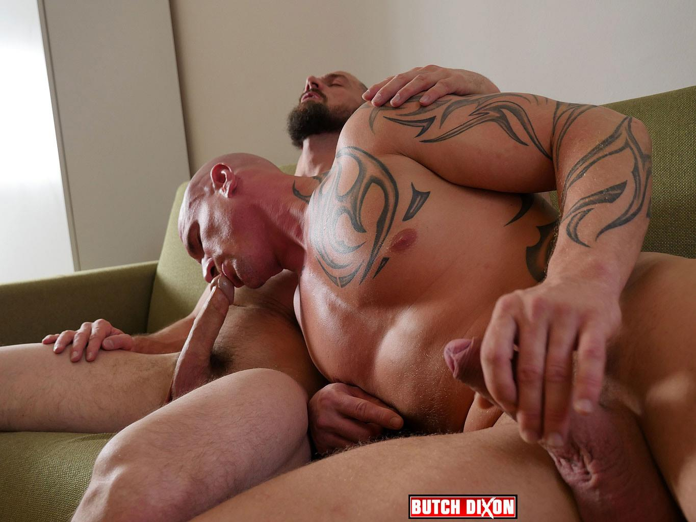 Butch Dixon Erik Lenn and Mike Bourne Masculine Guys Fucking Bareback Amateur Gay Porn 08 Beefy Masculine Guys Fucking Bareback With A Big Uncut Cock