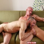 Butch Dixon Erik Lenn and Mike Bourne Masculine Guys Fucking Bareback Amateur Gay Porn 12 150x150 Beefy Masculine Guys Fucking Bareback With A Big Uncut Cock