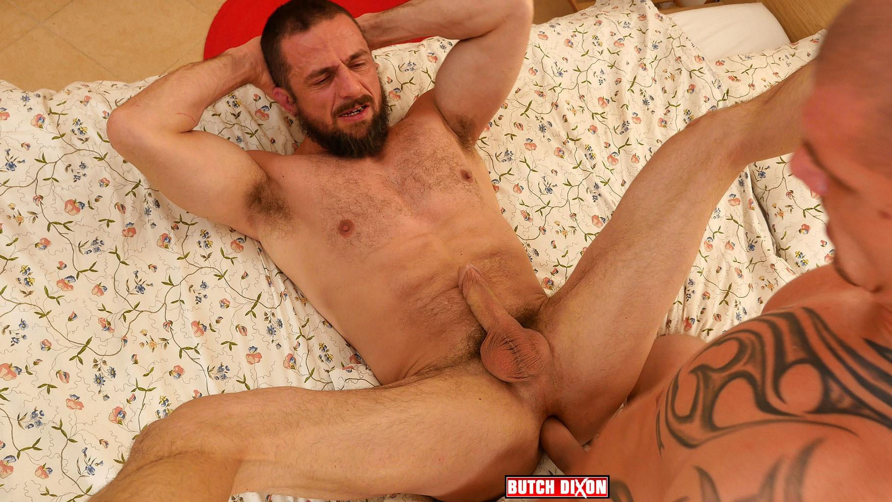 Butch Dixon Erik Lenn and Mike Bourne Masculine Guys Fucking Bareback Amateur Gay Porn 21 Beefy Masculine Guys Fucking Bareback With A Big Uncut Cock