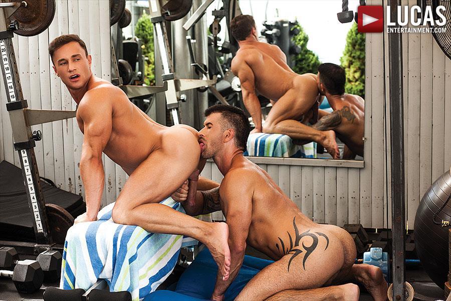 Lucas Entertainment Alexander Volkov and Adam Killian Muscule Bareback Fuck Amateur Gay Porn 02 Adam Killian Barebacking A Muscle Hunk With A Juicy Ass