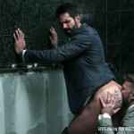 Men At Play Matthew Anders and Dani Robles Men In Suits With Big Cocks Fucking Amateur Gay Porn 19 150x150 Looking For Cock and A Fuck In the Mens Restroom