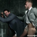 Men At Play Matthew Anders and Dani Robles Men In Suits With Big Cocks Fucking Amateur Gay Porn 22 150x150 Looking For Cock and A Fuck In the Mens Restroom