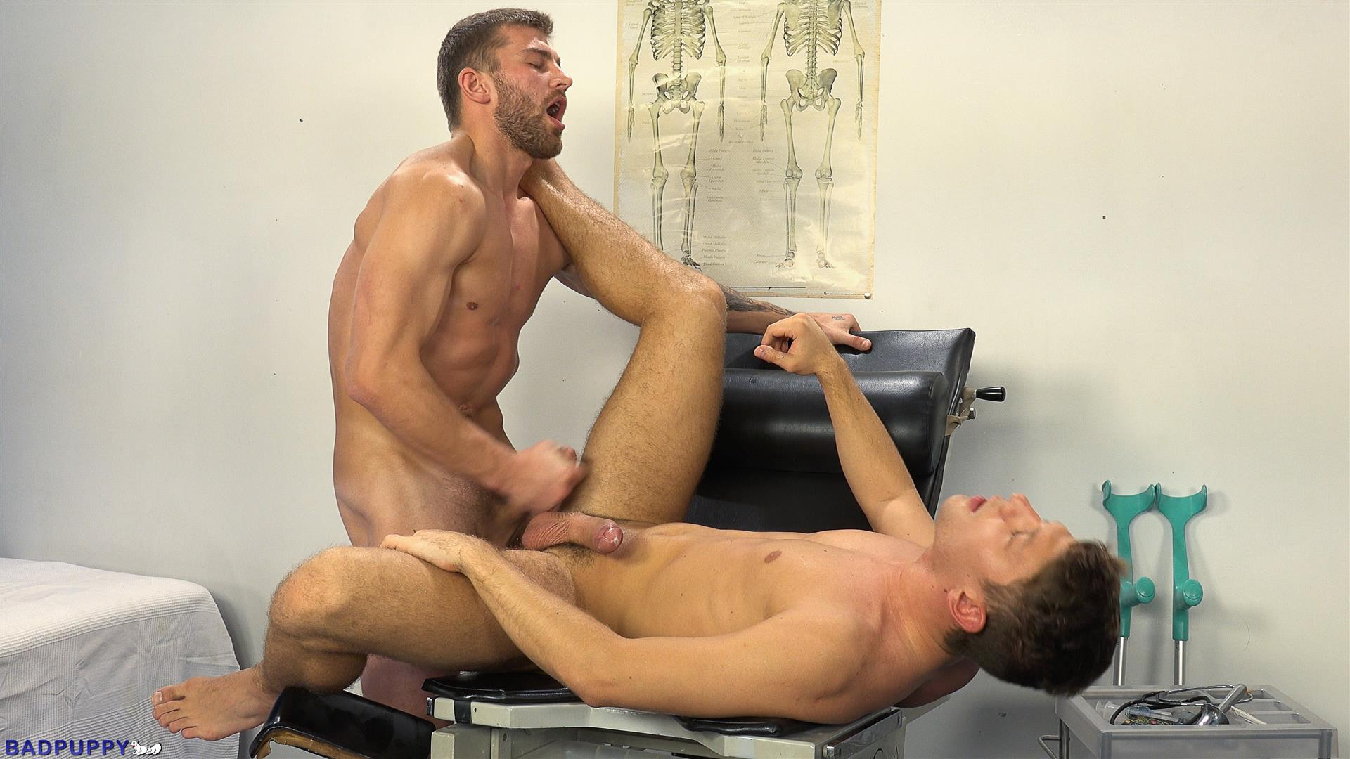 Badpuppy-Nikol-Monak-and-Rosta-Benecky-Czech-Guys-Fucking-Bareback-Amateur-Gay-Porn-31 Czech Hunks With Big Uncut Cocks Fucking At The Doctors Office