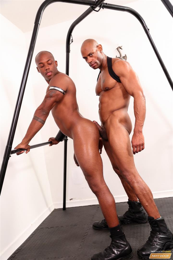 Marlone Starr and Osiris Blade Next Door Ebony Big Black Cocks Fucking Amateur Gay Porn 15 Osiris Blade Takes Marlone Starrs Massive Horse Cock Up The Ass
