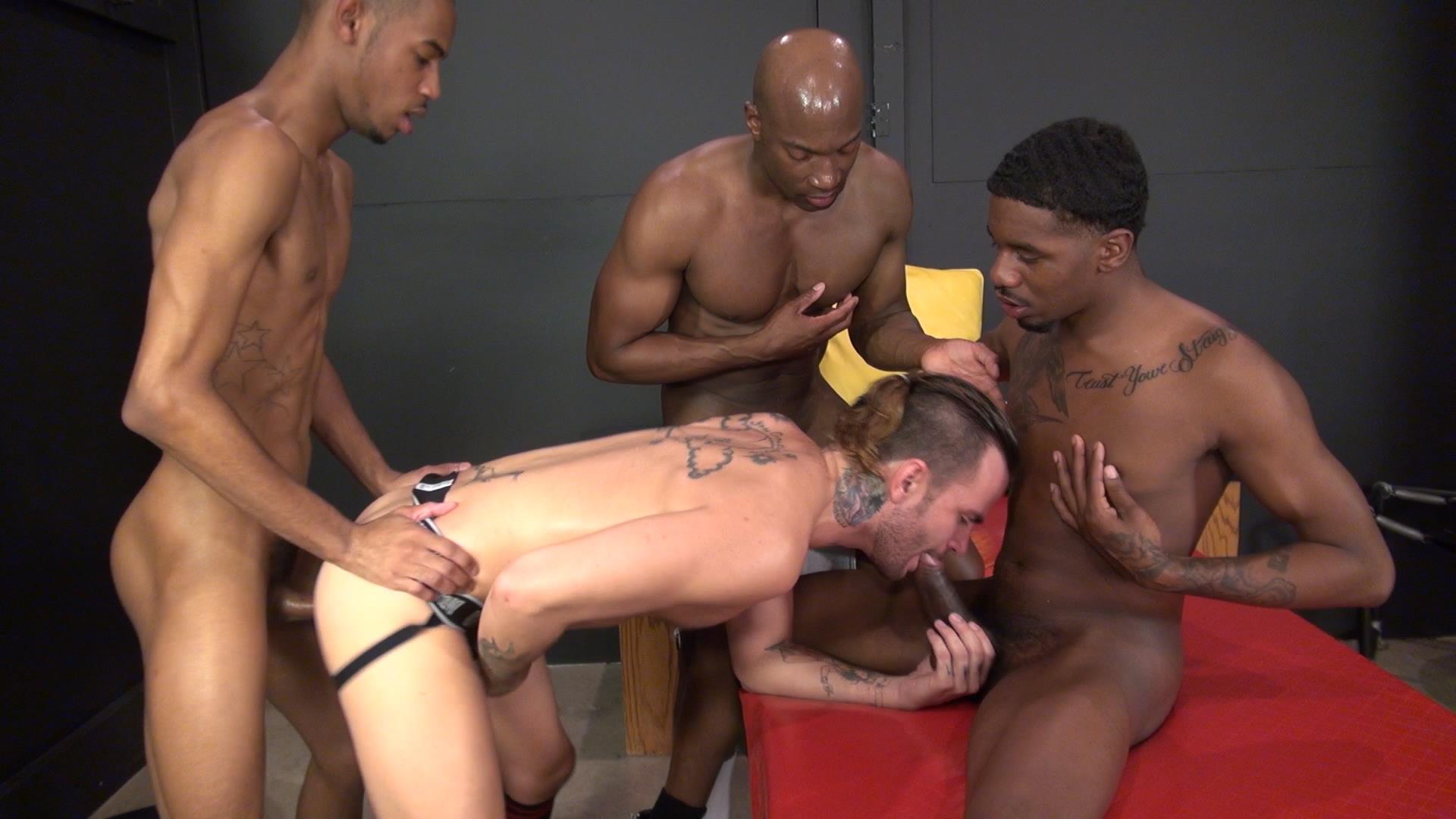 Raw-and-Rough-Champ-Robinson-Lukas-Cipriani-Knockout-Tigger-Redd-BBBH-Amateur-Gay-Porn-06 White Boy Gets A Breeding By Three Big Black Dicks
