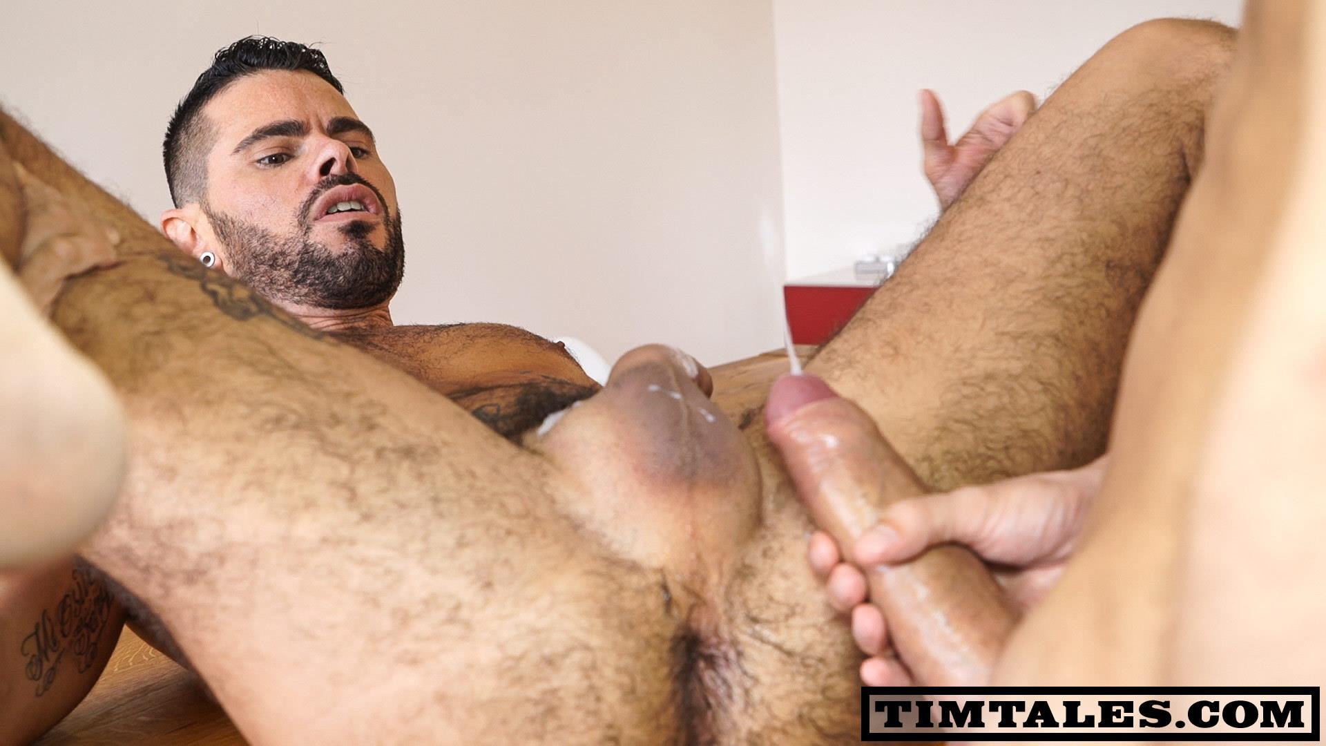 TimTales Esteban and Mario Domenech Big Uncut Cock Bareback Amateur Gay Porn 06 TimTales: Esteban Fucking Mario Domenech