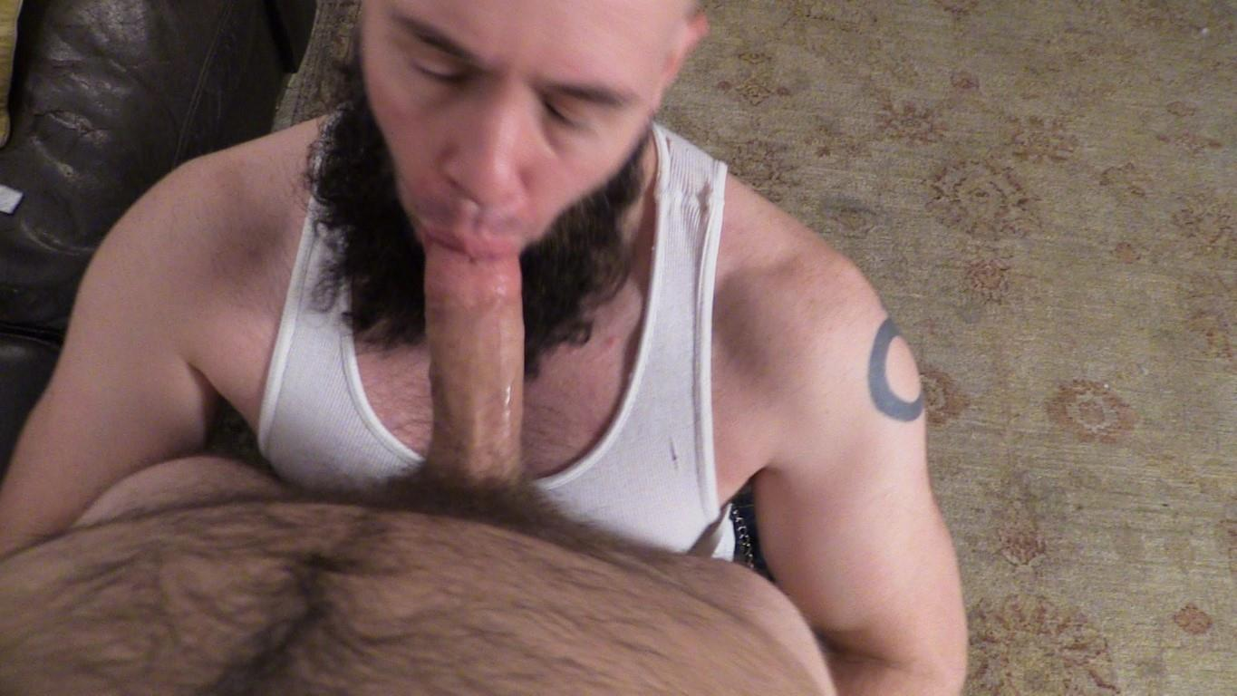 New York Straight Men Franco Fanatic and Dave Hairy Cub Getting Dick Sucked Amateur Gay Porn 09 New York Straight Hairy Cub Gets His Big Dick Sucked By A Guy