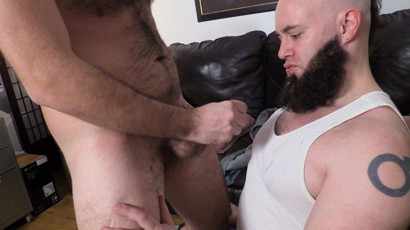 New York Straight Men Franco Fanatic and Dave Hairy Cub Getting Dick Sucked Amateur Gay Porn 15 New York Straight Hairy Cub Gets His Big Dick Sucked By A Guy