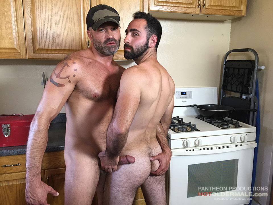 Hot Older Male Dave Rex and Anthony Naxos Thick Daddy Cock Amateur Gay Porn 02 Getting Fucked By A Daddy With A Big Thick Hairy Cock