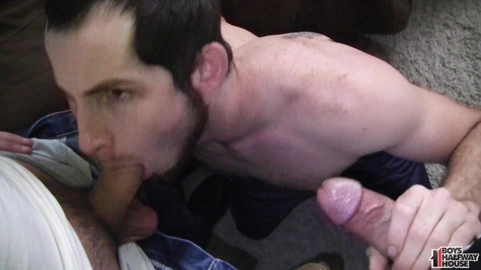 Boys-Halfway-House-Free-Download-Toby-Springs-Bareback-03 Straight Young Man Gets Two Raw Thick Dicks At The Halfway House