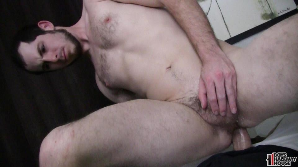 Boys-Halfway-House-Free-Download-Toby-Springs-Bareback-20 Straight Young Man Gets Two Raw Thick Dicks At The Halfway House