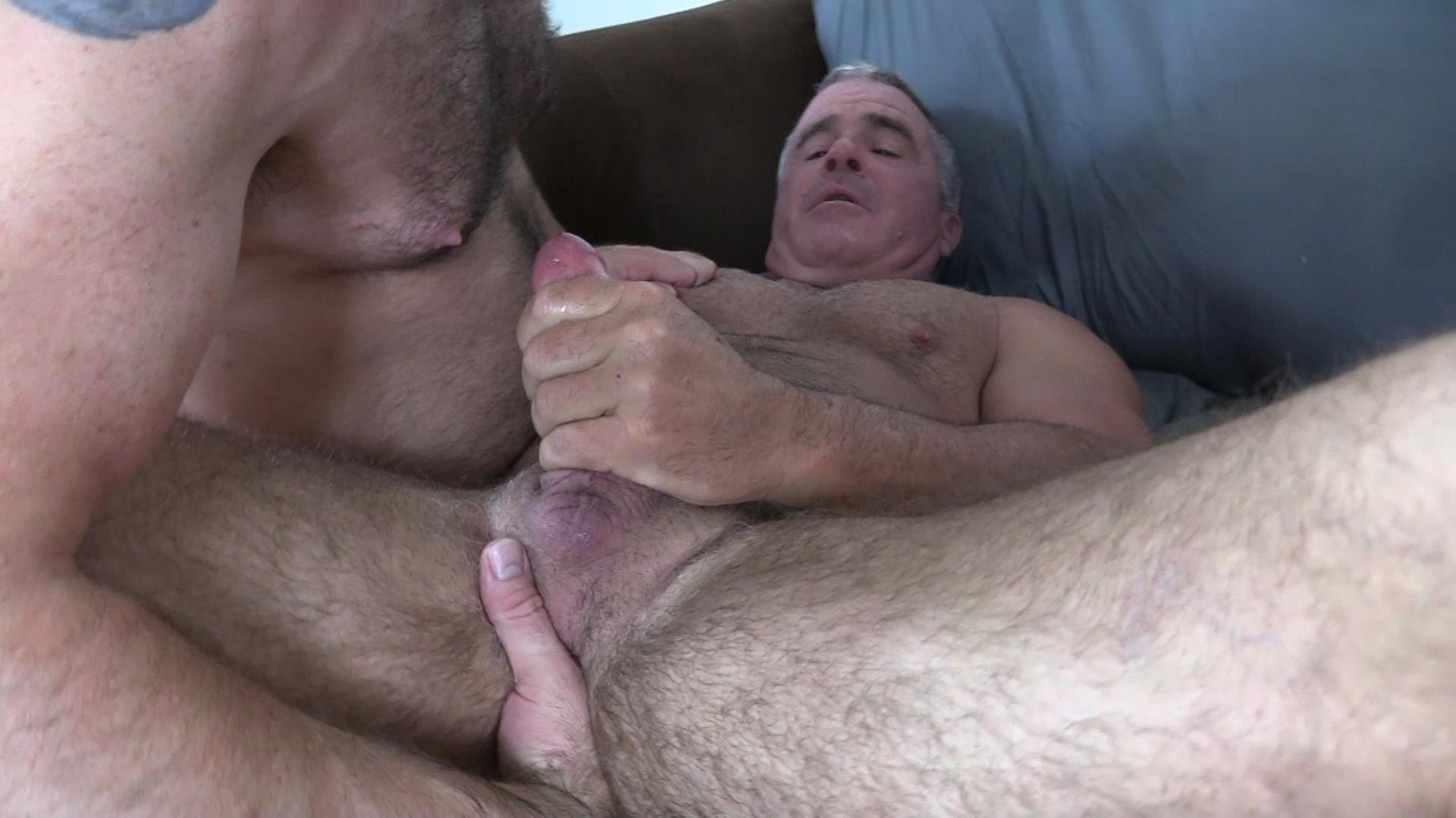 Topher-Phoenix-and-Dale-Savage-Hairy-Daddy-Bears-Gay-bareback-sex-video-24 Topher Phoenix Breeds Hairy Muscle Daddy Dale Savage