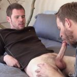 Cum-Club-Naked-Army-Guy-Gets-A-Blowjob-From-A-Guy-Redhead-05-150x150 Scruffy Army Boy Gets His Ginger Cock Sucked By A Man
